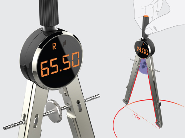 Easy-to-View Compass by Cheol Woong Seo & Jae Hee Park » Yanko Design