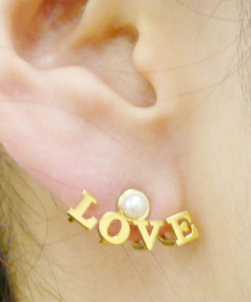 "■ete×一ツ山佳子 Collaborated Jewelry■ - Wrap colleltion - ""LOVE"" ■ete×一ツ山佳子 Collaborated Jewelry■ ete"