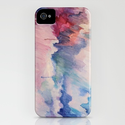 Somewhere Over the Rainbow iPhone Case by Jenny Vorwaller | Society6