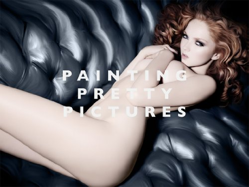 Amazon.co.jp: Painting Pretty Pictures: Liza Barber, Rankin: 洋書