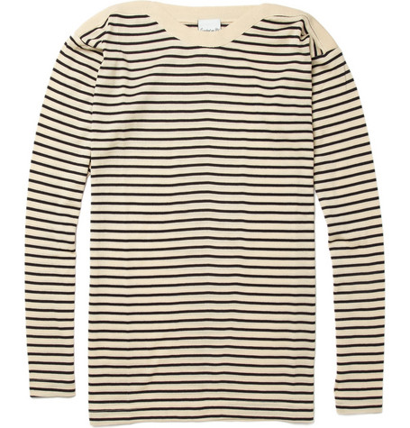 S.N.S. Herning Striped Merino Wool Sweater | MR PORTER