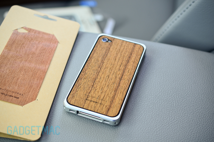 Patchworks Alloy X Wood Aluminum iPhone 4/S Bumper Case Review - Gadget and Accessory Reviews - Gadgetmac