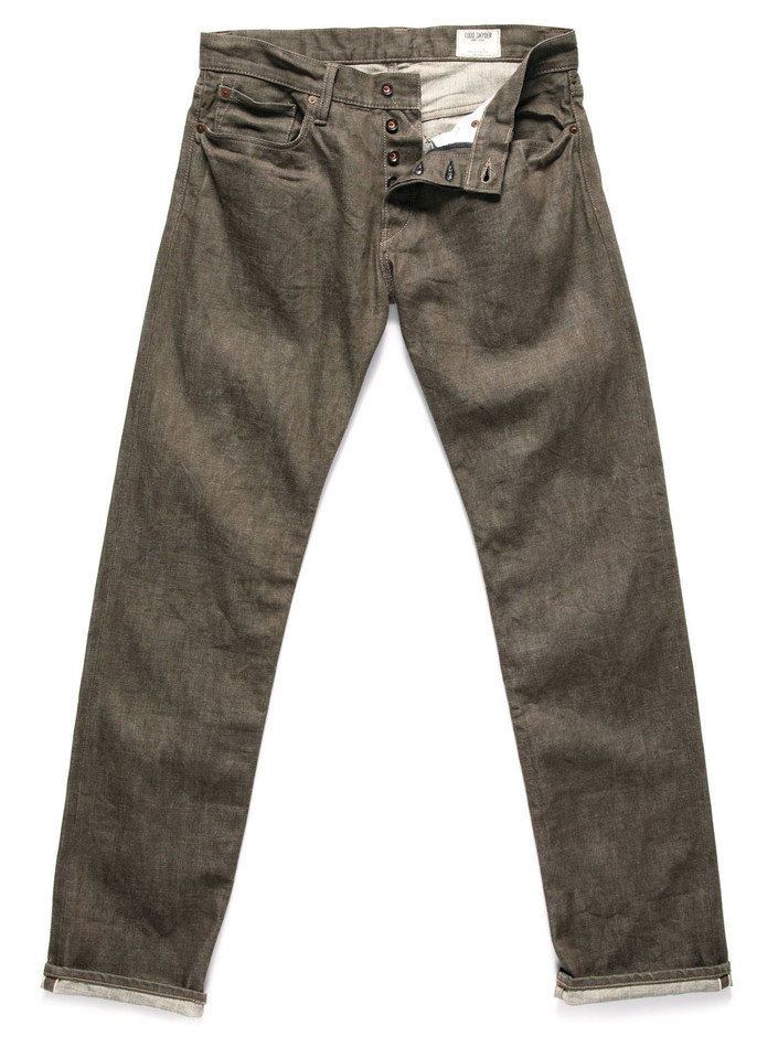 Todd Snyder Japanese Selvage Straight Leg Jean at Park & Bond