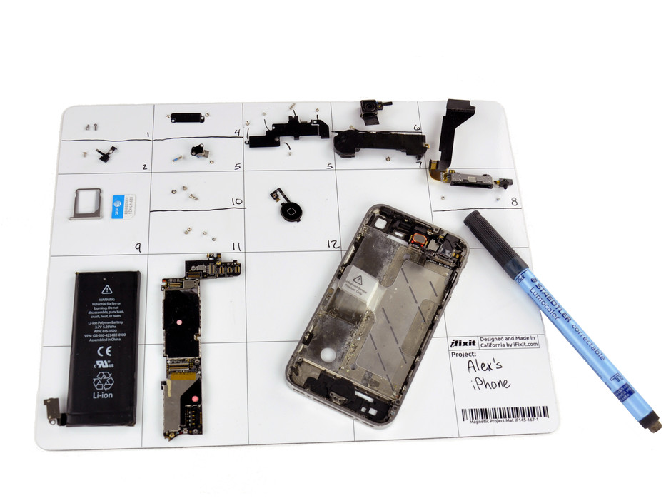 Magnetic Project Mat - iFixit