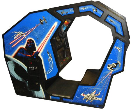 Atari Star Wars Cockpit Original Arcade Machine from Find Arcade Machines