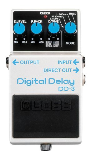 Boss DD-3 Digital Delay Pedal: Amazon.co.uk: Musical Instruments