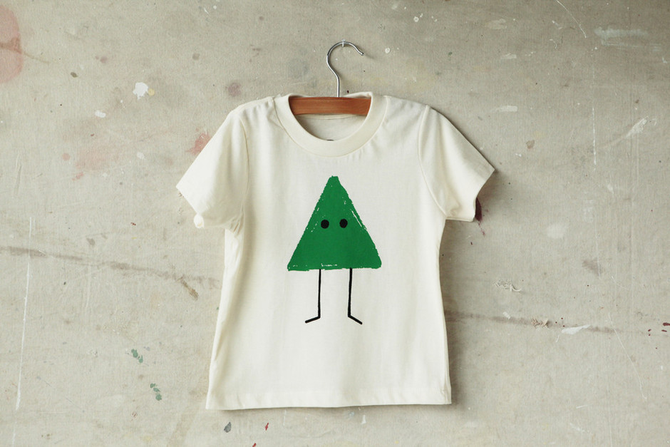 Go Play Toddler Tee, Triangle | Shop by More & Co. - More & Co.