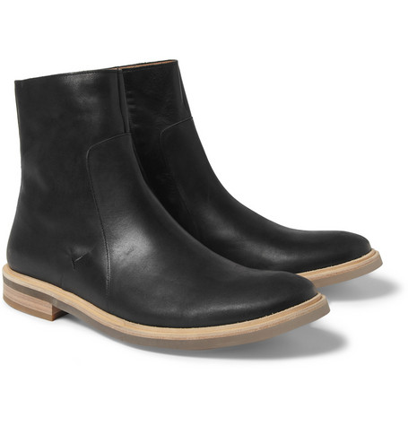 Maison Martin MargielaClear-Sole Leather Boots|MR PORTER