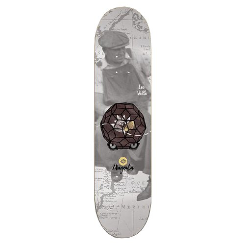 "MAGENTA - MIND CONNECT series ""Leo Valls"" (7.8 X 32) - Growth skateboard elements"
