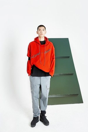 Lift - off hoodie Red