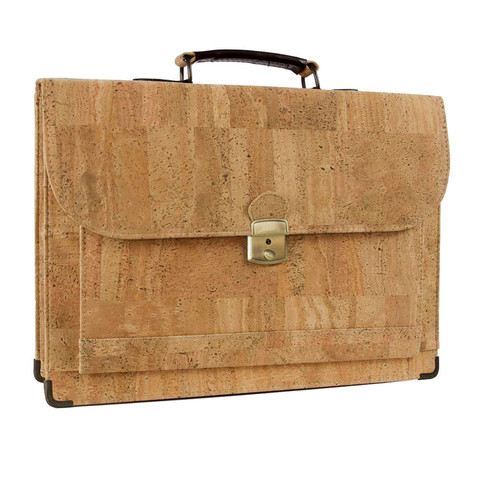 Briefcase made from cork | Free Shipping | Corkor.com
