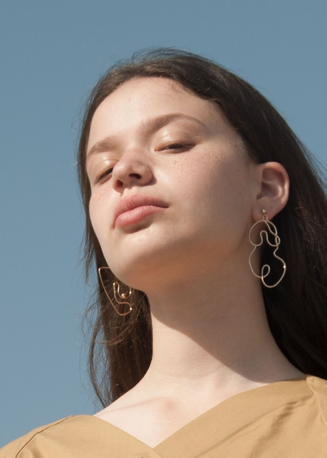 Nude No. 2 Earring | Large | Knobbly