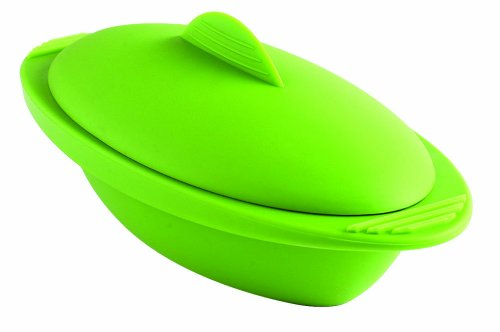 Amazon.com: Orka Personal 20-Ounce Silicone Steamer, Green: Kitchen & Dining