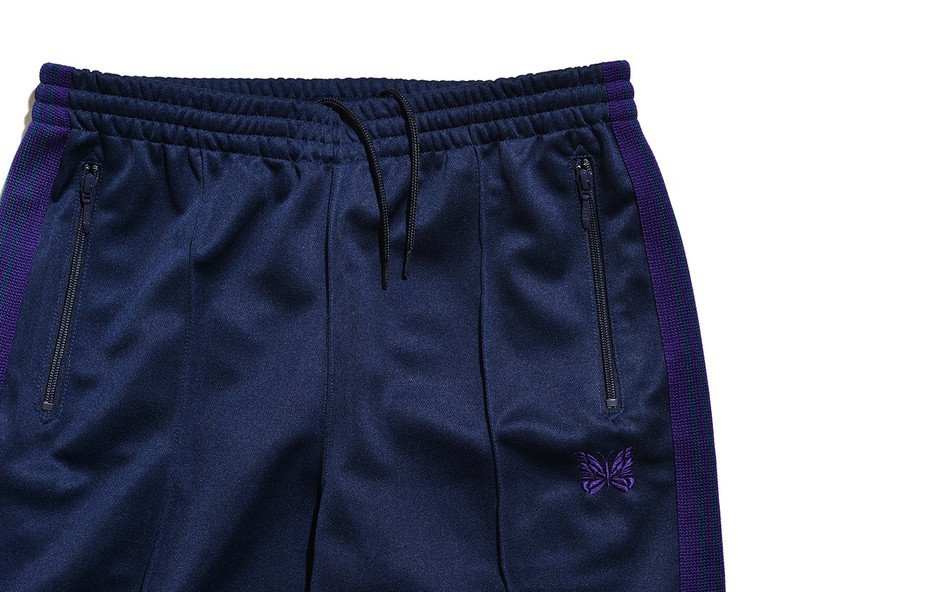 Track Pant-Poly Smooth-Navy