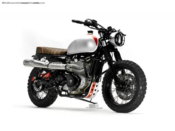 Steel Bent Customs T100 | the Bike Shed
