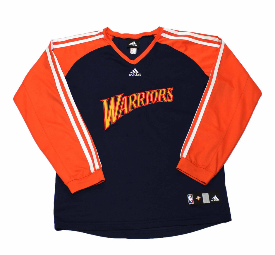 Golden State Warriors Warm Up Shooting Shirt Mens Size Small | Vintage Mens Goods