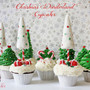 Christmas Winter Wonderland treats: Cupcakes + How to make christmas tree cupcakes   niner bakes // Decorated Cake Pops, Cupcakes and more yummy treats.