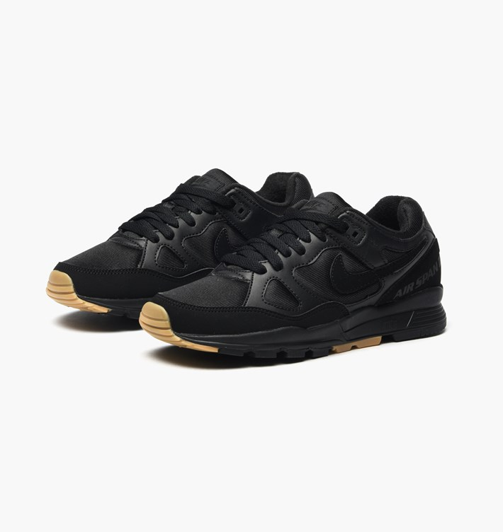 reputable site f5314 4a577 NIKE Air Span II - BlackBlackGum