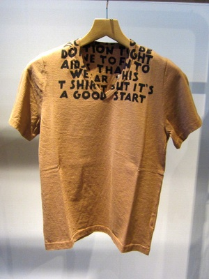 IN STORE STYLE Female ONE PAIR : ★Maison Martin Margiela AIDS TEE★