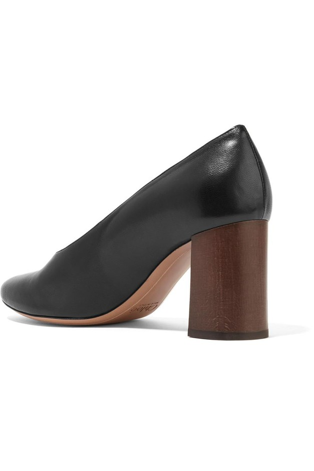 Chloé | Leather pumps | NET-A-PORTER.COM