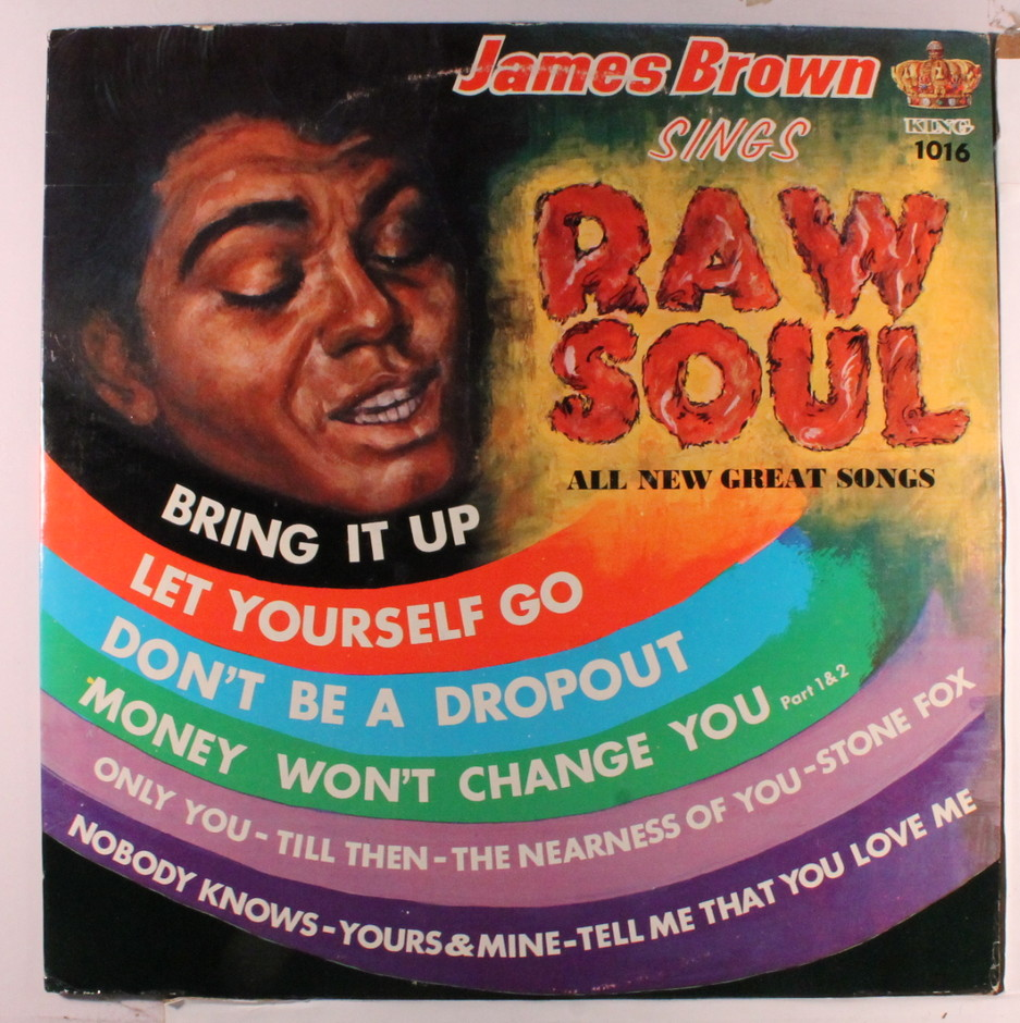 JAMES BROWN(LP) RAW SOUL