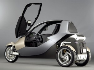 A CLEVER trike by BMW   Trike Blog - 3 Wheel Motorcycles, Trikes, and Three Wheel Scooters