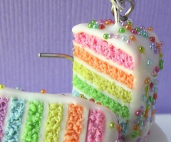 sweet as can be / rainbow cake