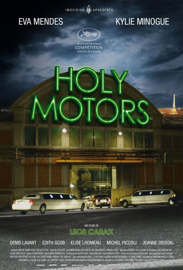 Holy Motors: Extra Large Movie Poster Image - Internet Movie Poster Awards Gallery
