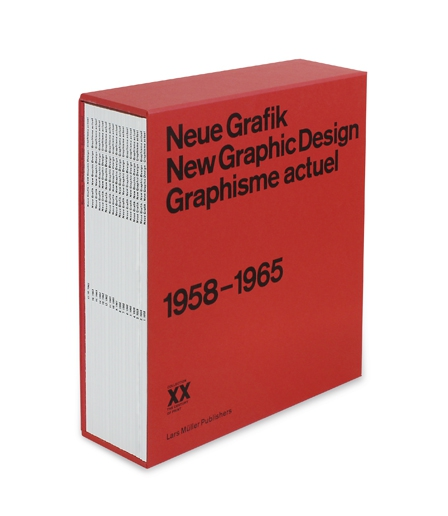 Neue Grafik/New Graphic Design/Graphisme actuel — Lars Müller Publishers