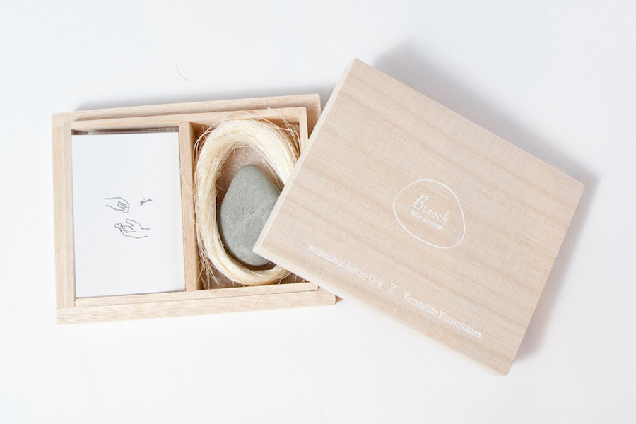BATON STORE バトンストア   暮らすひと暮らすところ one to one BROOCH ブローチ L