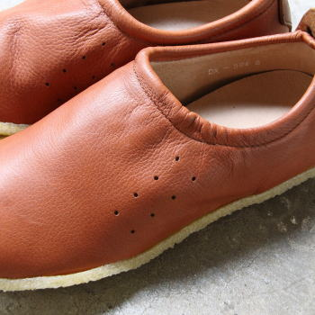 Needles Deer Skin Moc Shoe Camel