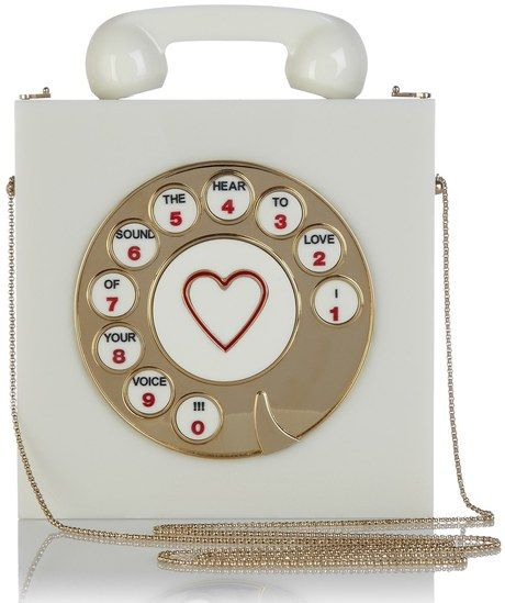 Heart♡ / Charlotte Olympia Chatterbox Clutch