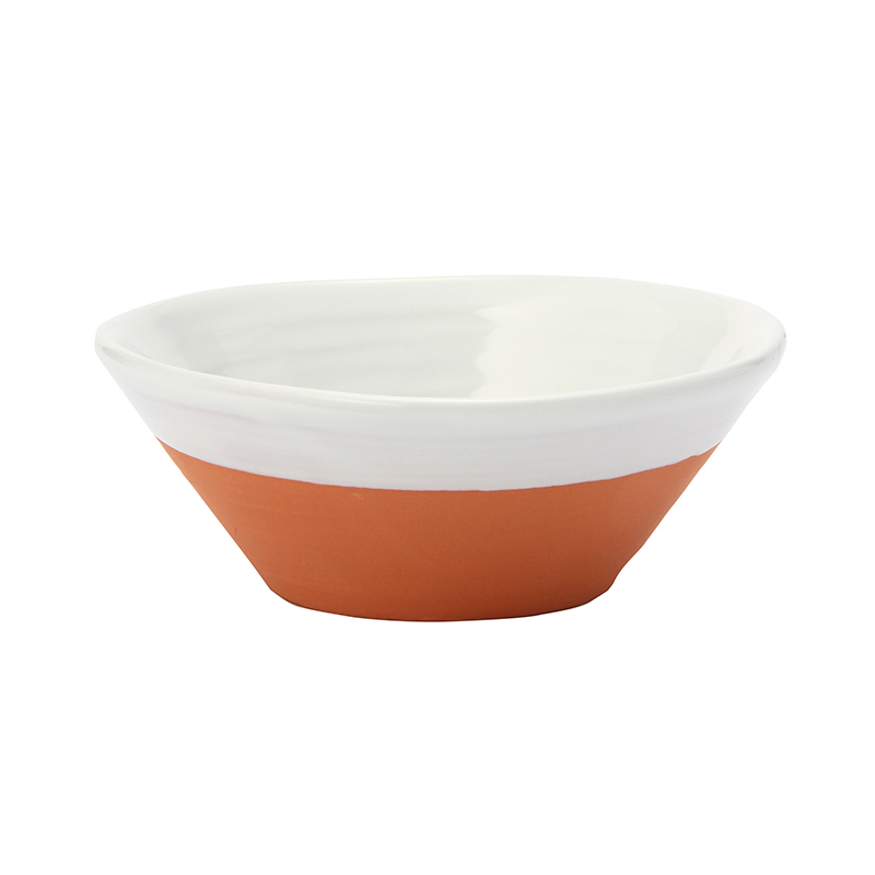 DIPPED TERRACOTTA CEREAL BOWL WHITE|Tableware | THE CONRAN SHOP(コンランショップ) | THE CONRAN SHOP