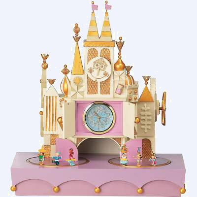 It's A Small World Animated Musical Clock - Fine Decor - Disney Collectibles Database
