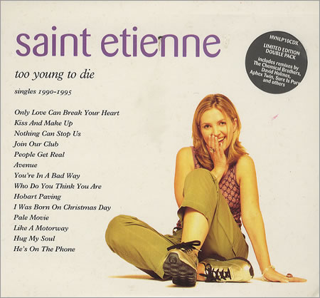 St Etienne Too Young To Die Singles 1990-1995 UK 2 CD album set (Double CD) (179516)