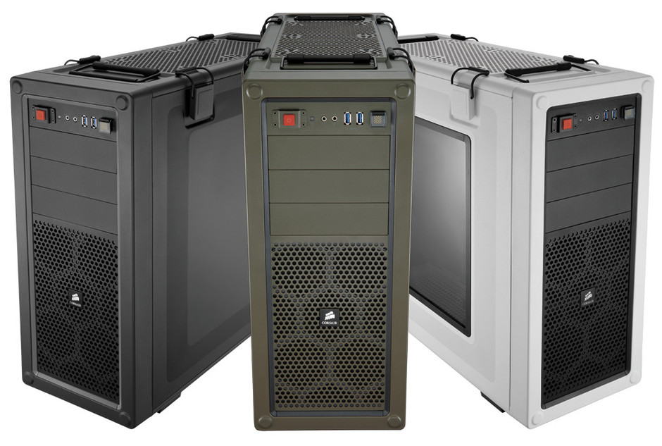 Vengeance® C70 Mid-Tower Gaming Case — Military Green - Vengeance Series - Cases
