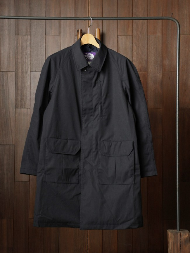 THE NORTH FACE PURPLE LABEL|65/35 INSULATED SOUTIEN COLLAR COAT #DARK NAVY - Diffusion