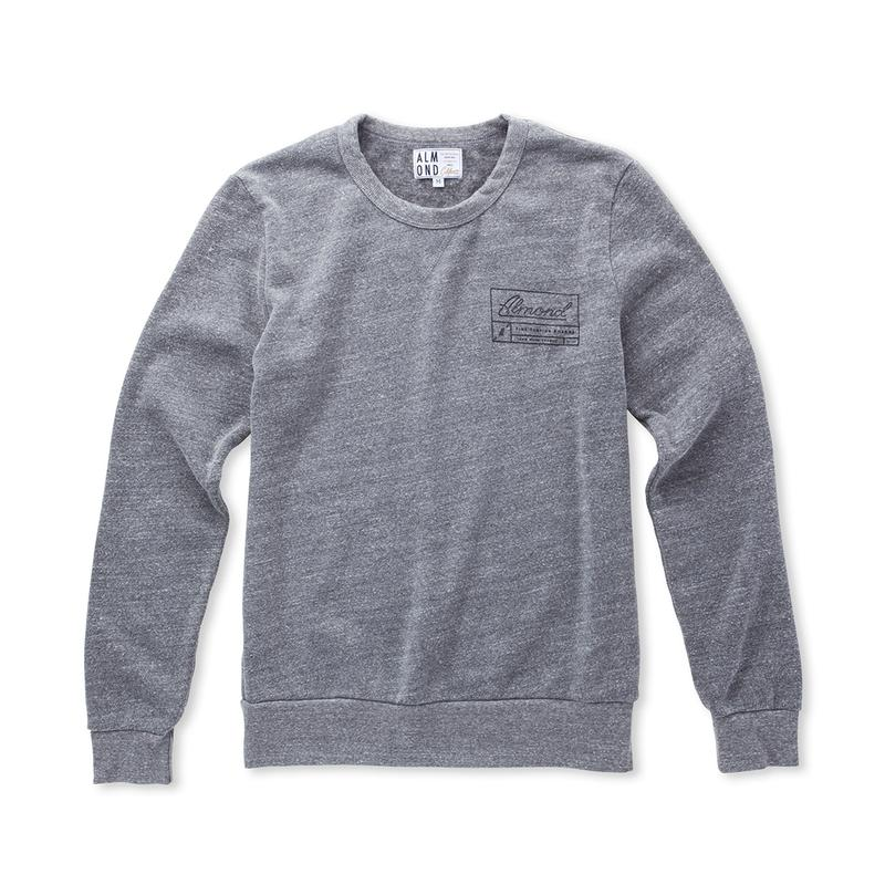 36th Street Pullover // Heather Grey | Almond Surfboards