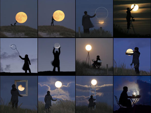One guy fooling around with the Moon   Bad Astronomy   Discover Magazine