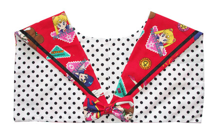 Image of OOAK - Pretty Sailor Soldier Collar (Red)