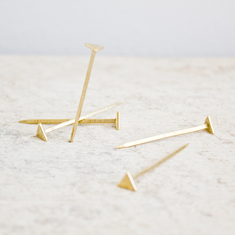 The Winsome Brave — Equilateral Nails : Bronze