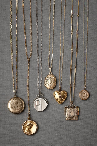 Collector's Lockets in SHOP New at BHLDN