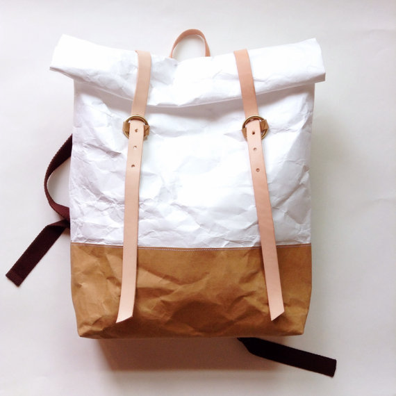 BT Tyvek Paper Backpack by Belltastudio on Etsy