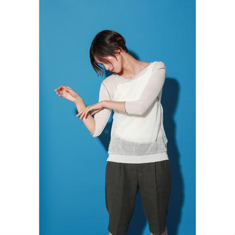 COLOR BABYLOCK KNIT PULLOVER(KC1022) | EARIH ON...