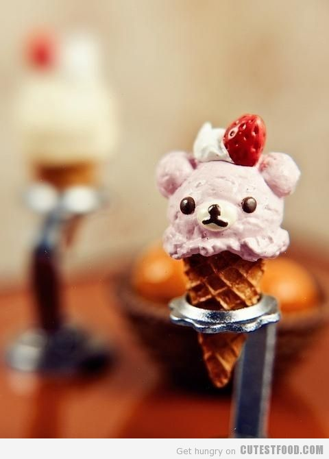 Bear Ice Cream | Cute Ice Cream | CutestFood.com
