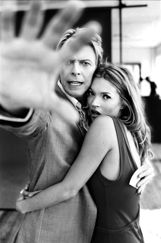 ?David Bowie & Kate Moss