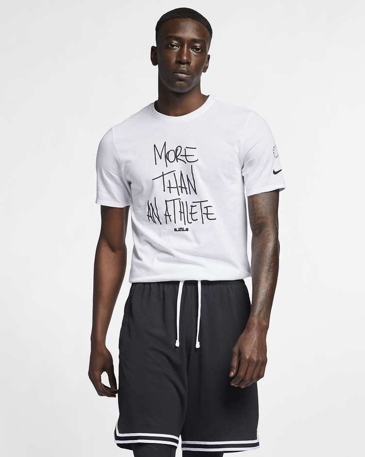 "Nike Dri-FIT LeBron ""More Than An Athlete"" Men's T-Shirt. Nike.com"