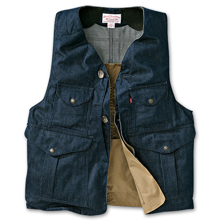 Denim Original Hunting Vest | Filson
