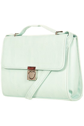 Heart Lock Cross Body Bag - Topshop USA