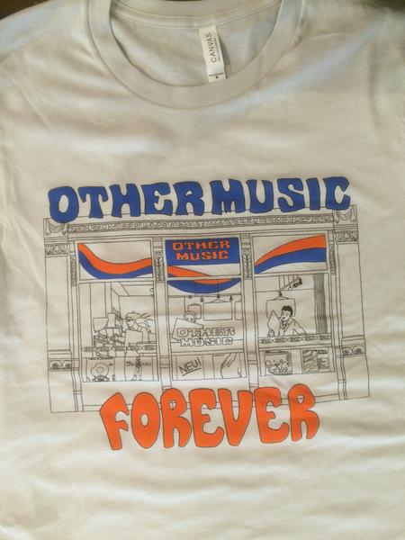 T-SHIRT: Other Music Forever - Black/White – Other Music